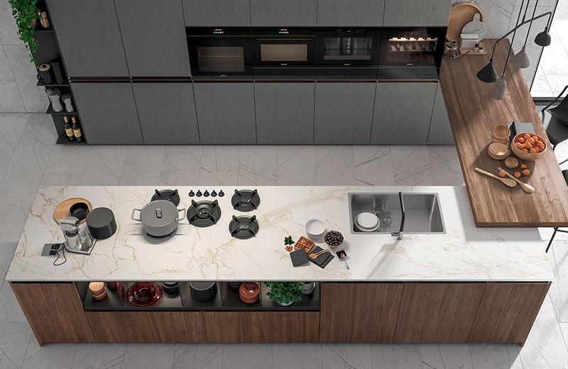 I migliori piani di lavoro per cucina | Montorsi Arredamenti